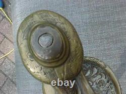 Original CIVIL War Engraved Captain Sword Ny New York 173rd Regiment