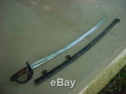 Original Civil War Cavalry Sword Tiffany & Co New York Wrist Breaker Luneschloss