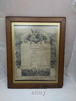 Original Civil War Soldier Memorial Company K 189th Infantry Volunteer New York