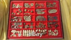 Over 200 Civil War Artifacts from New York Camp. Retreat Route from Gettysburg