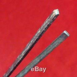 PRE CIVIL WAR 1850-s Set of 2 US Rapier Swords (SOLINGEN, NEW -YORK Blade)