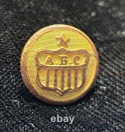 PRE CIVIL WAR ERA 2 PC NEW YORK ALBANY BURGESSES CORPS BUTTON ALBERTS# NY-66-Av