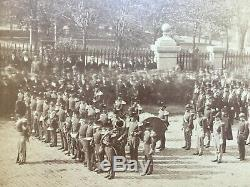 Photograph Civil War related New York City imperial Size Union Square 22 x 18