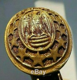 Post CIVIL War M 1852 Naval Sword Made By Ridabock Ny Spanish American War