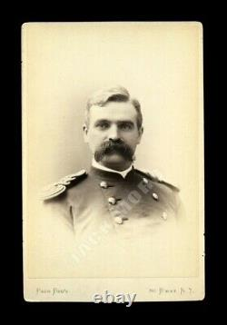Post Civil War 1870s Indian Wars Army Officer by New York Photographer Pach Bros