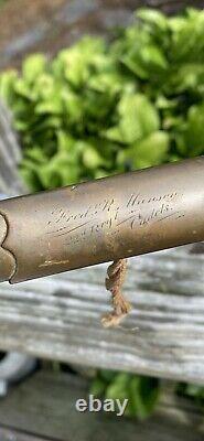 Post Civil War SWORD Fred. R. Hansen 22d. Regt Cadets N. G. S. N. Y A&A SCHNITZLER
