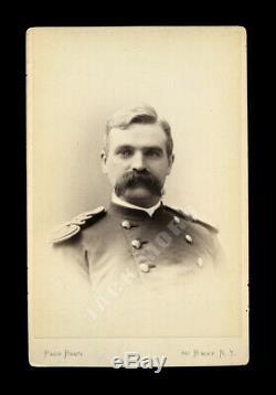 Post Civil War Soldier General by Pach New York Indian Wars / Little Bighorn Era