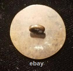 Pre CIVIL War 1 Pc Flat New York State Militia Button Alberts# Ny-9a-ty War 1812