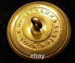 Pre CIVIL War/civil War Era New York State Seal Militia Button Alberts# Ny-25-a1