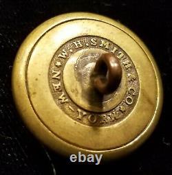 Pre CIVIL War/civil War Era New York State Seal Militia Button Alberts# Ny-26-a1