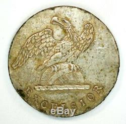 Pre-Civil War Excavated New York Militia Button Silvered Albert NY9, Tice NY40A1