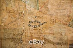 Pre-Civil War Orange Rockland County Map