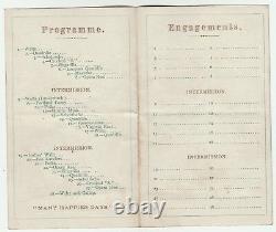 RARE- 1870 & 1901 Programs 74th NY Civil War Regiment Buffalo New York GAR