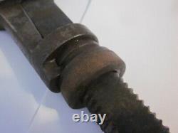 RARE Antique GC TAFT Patent Applied For 1857 Wrench NY Pre Civil War Merrick era