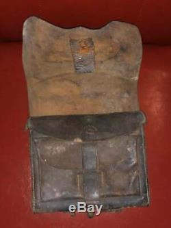 Rare CIVIL War Union Ammunition Cartridge Box New York Ny Maker Marks