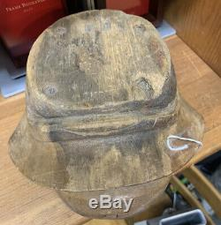 Rare CIVIL War Wooden Hat Kepi Mold Empire Hat Company New York