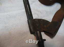 Rare NY State Militia Civil War Belt Buckle, Intact Belt, Keeper, Bayonet withFrog