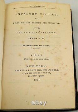 SCOTTS INFANTRY TACTICS 1861 Military Civil War Volume 3