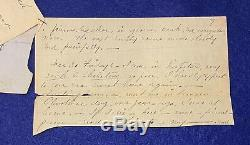 Short 1864 22nd NY Cavalry Civil War Period POW Diary, Libby To Salisbury Prison