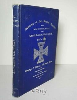 Souvenir of the Annual Reunion 1894 Twelfth Regiment New York Civil War Military