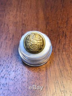 Steele & Johnson RMDC Early Civil War New York Police Staff Coat Button