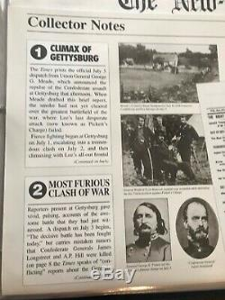 THE NEW YORK TIMES CIVIL WAR LIBRARY Authentic Facsimile Editions Willabee Ward