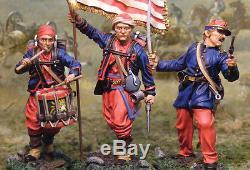The Collectors Showcase CIVIL War Union Cs00495 5th New York Command Mib