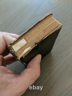 The New Testament Miniature Book 1864 American Bible Society New York Civil War