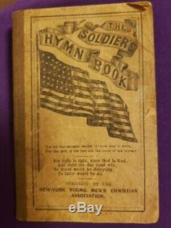 The Soldier's Hymn Book Civil War New York YMCA John A. Gray Printer