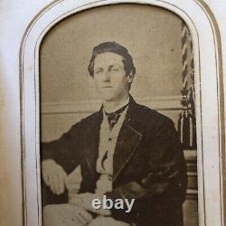 Thomas & Kent Families Cuba NY Civil War Era Photos & Album CDV/TinTypes IDd