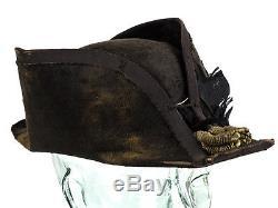 US Civil War Bicorn Hat Medals & 39th New York Inf Reg Epaulette`