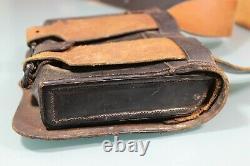 US Civil War M1861 Cartridge Box With Sling. Hoover, Calhoun & Co. NY. Very Nice