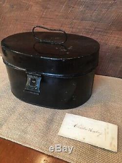 US Civil War Metal Epaulet Box Shannon Miller& Crane Military Goods Broadway NY