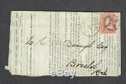 US Sc#65 Civil War 1864 Adversity Cover Sugar Price List NY Fancy Cancel