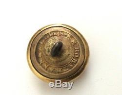 Ulster Guard New York CIVIL War Button Mint Us 151 Ny 89b, Horstman & Allien