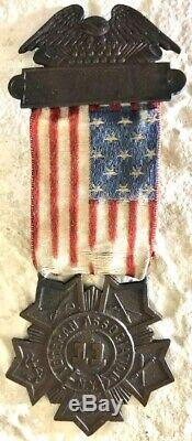 VERY RARE Civil War 11th New York Infantry Zouave regiment Veterans Medal