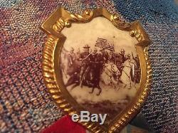 Vintage Civil War 9th New York Cavalry Reunion Medal