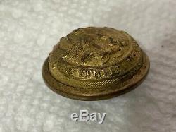 Virginia Staff Button Civil War Confederate Horstmann & Allien N. Y. RARE
