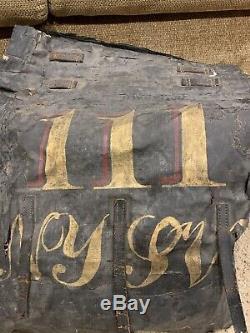 WOW civil war 111th N. Y. S. V. Regiment union Rucksack Backpack knapsack new york