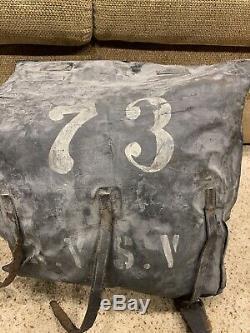 WOW civil war union 73rd N. Y. S. V. Regiment Rucksack backpack knapsack new york