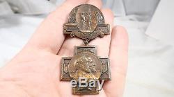 Whitehead & Hoag CIVIL War N. Y. Gettysburg Reunion Medal 1863 1913 Lee Meade